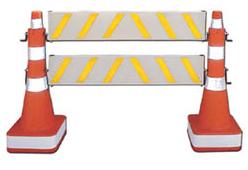 CJBV-4120182 – Balizador de tráfego com viga
